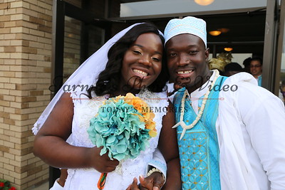 "THE WEDDING CEREMONY BETWEEN MARGARET AND JAABBAH WAS HELD ON SATURDAY SEPTEMBER 23rd, 2017 AT LUTHERAN CHURCH OF THE MASTER 1200 69th AVENUE NORTH BROOKLYN CENTER, MN. 55430. PHOTO BY: ""TARNUE'S PHOTO & VIDEO."" 612.913.2831"