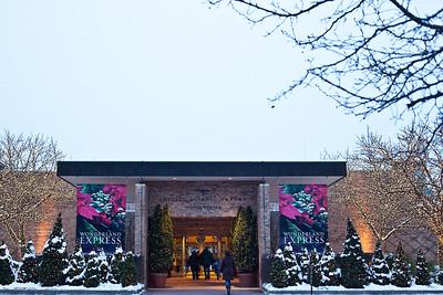 Chicago Botanic Gardens Holiday Event