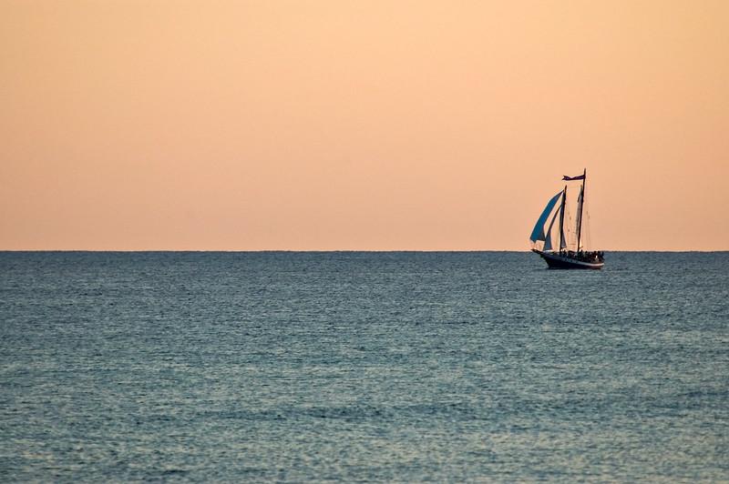20040814 Destin Beach 002 lone ship on water.jpg