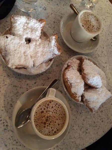 Beignet's at Cafe Du Monde