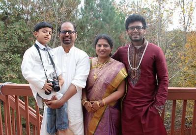 Rudrabhishekam at Venkata Pingalis Residence