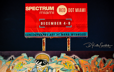 Red Dot Spectrum Miami Art Basel 2019