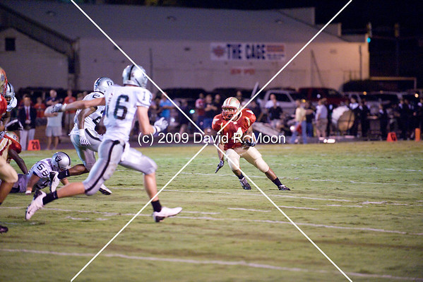 Aug 28, 2009 - East Paulding vs Rome (25-22)