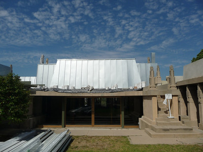 6.  Hollyhock House, Feburary 2011