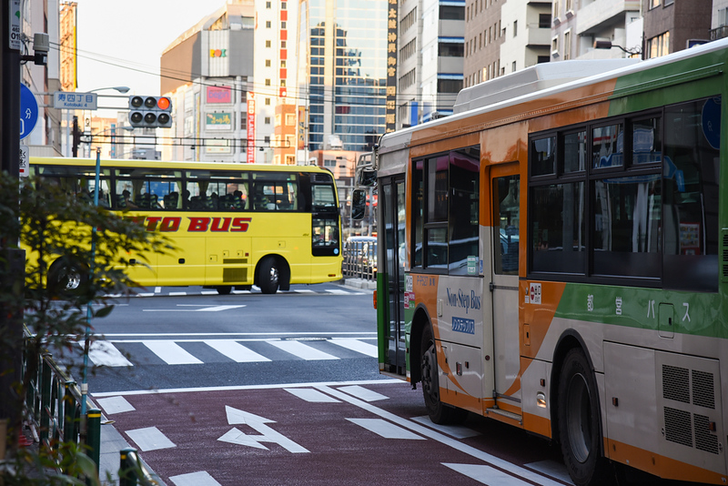Tokyo Bus. Editorial credit: Nataporn Sesthapaisarn / Shutterstock.com