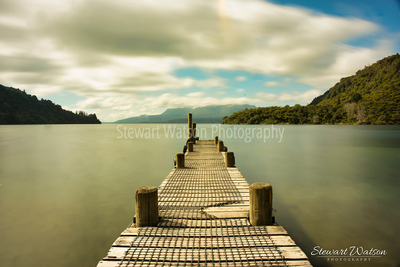 Lake Tarawera jetty