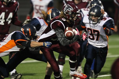 3A City Semi Graham vs Tommy Douglas Oct 29, 2014