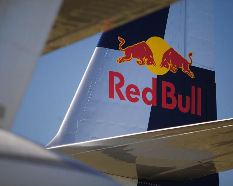 """Red Bull"" Albatross at EAA AirVenture 2009."