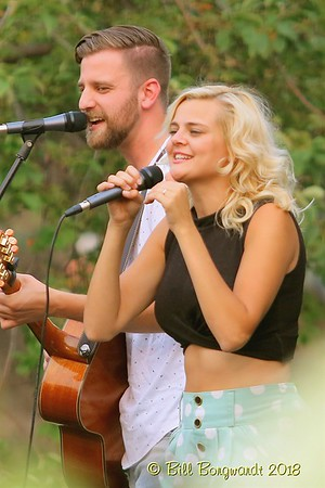 August 8, 2018 - Leaving Thomas and Krissy Feniak at the Stony Plain Summer Sessions