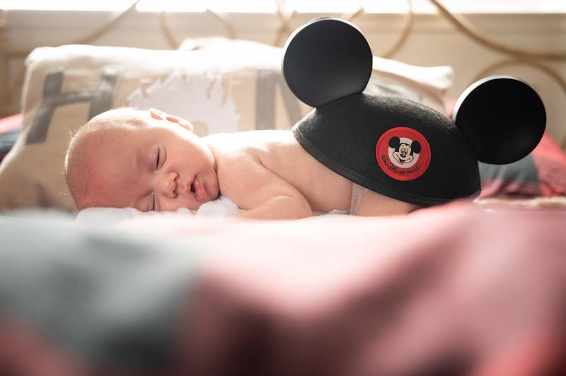 Luca DiLuzio Newborn Session