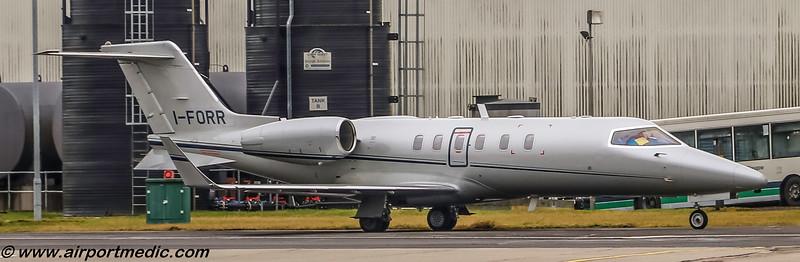 I-FORR LearJet 40 @ Glasgow (EGPF)