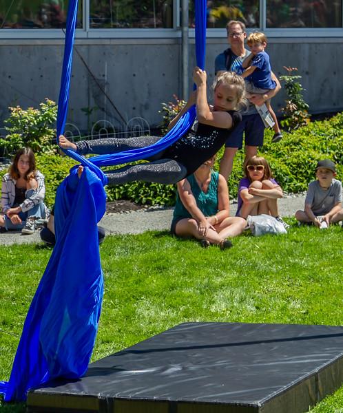Set six, UMO Aerial Show 1 at Ober Park, Vashon Island Strawberry Festival 2019