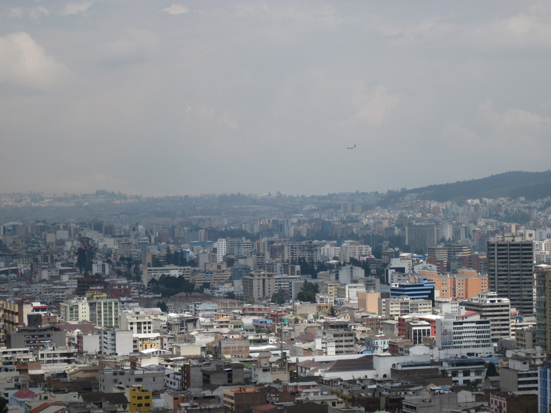 View of Quito New Town