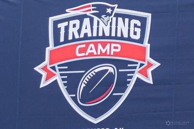 Patriots traing camp 2021