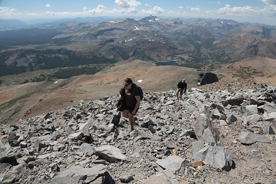 2012-07-03 Tue: Mt. Dana Hike: 08 Summit