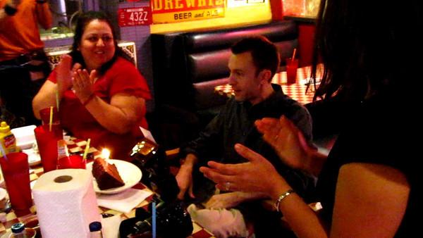 12/05 - Jon's Birthday at Robin's