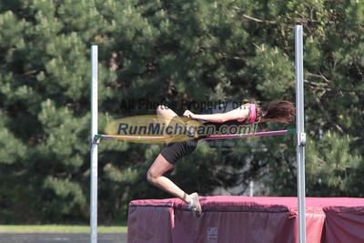 High Jump - 2012 MHSAA LP Track & Field Regional 8-1 Warren-Mott