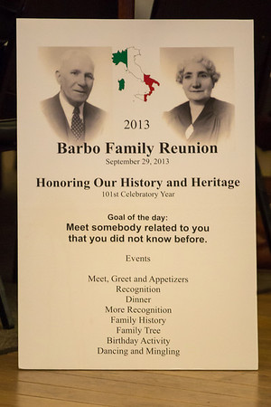 Barbo Family Reunion