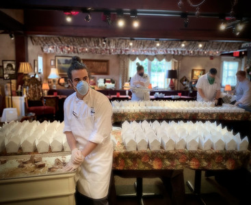 The Herbfarm Meals for Hospitals March 28th