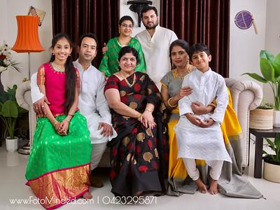 Shirish Shobhana Family