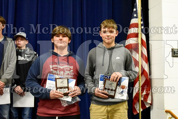 HS Fb Awards Night 10-29-19