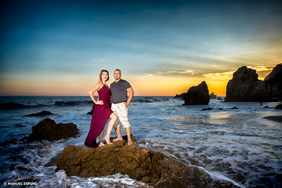 Los Angeles Orange County Engagement Session Photography