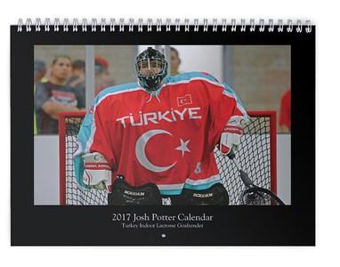 2017 Josh Potter Calendar