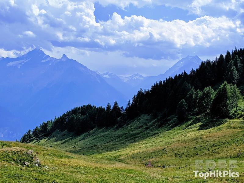 Vetan in Aosta Valley in Italy