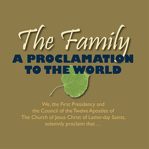 The Family A Proclimation to the World