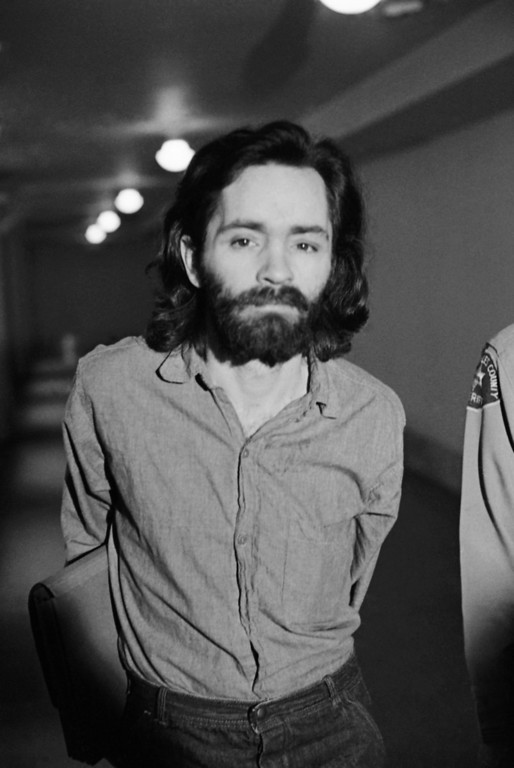 . Charles Manson is shown, 1969. (AP Photo)