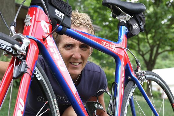 Heidi Sieberlich trains for Iron Man