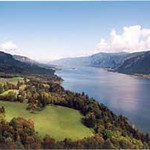 34) Columbia River Gorge into the Pacific