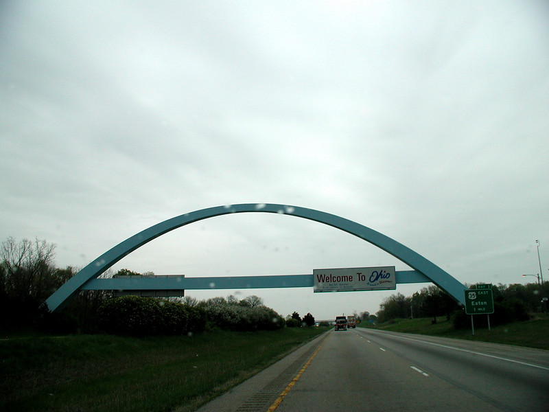 OHIO WELCOME SIGN (ARCH #3)