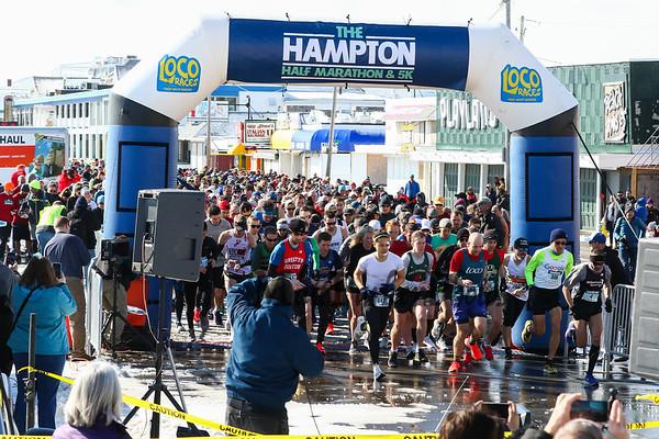 2019-3-3 Hampton Half and 5k Road Race