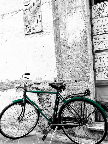 The bicycle in Nardò
