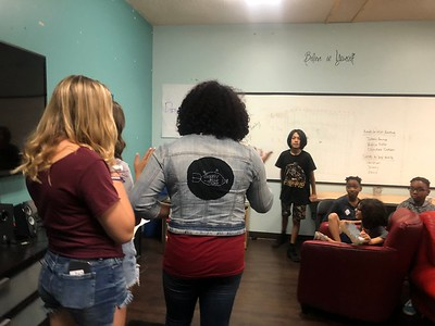 Teens from Parkland Florida Visit the Lab