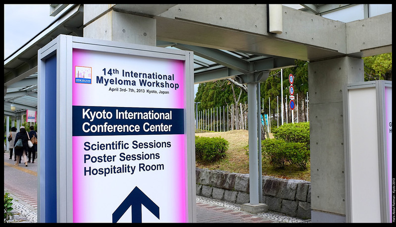 At the Conference Centre  Kyoto 2013