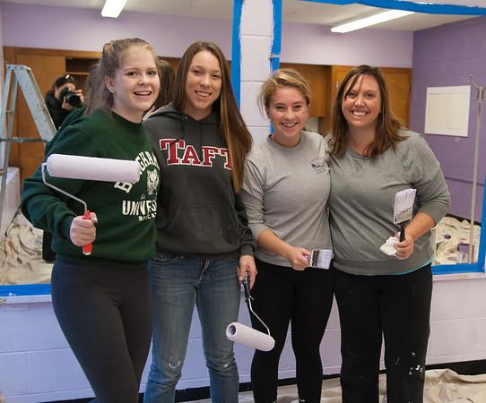 Downtown Waterbury: Girls Inc, Waterbury Youth Services,  and Mattatuck Museum