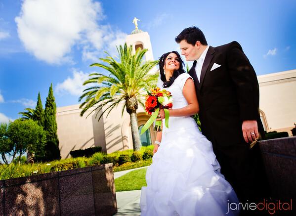Newport Beach Temple Wedding (Highlights First)
