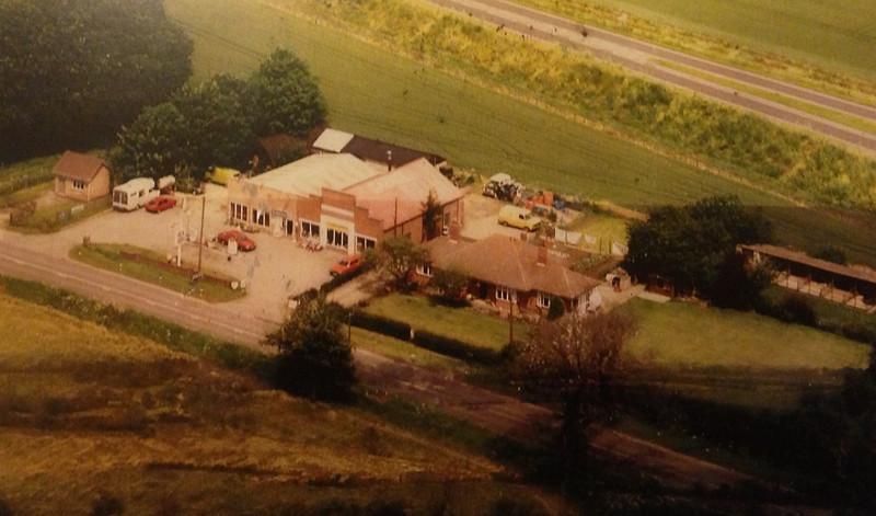 Spaldwick Service Station