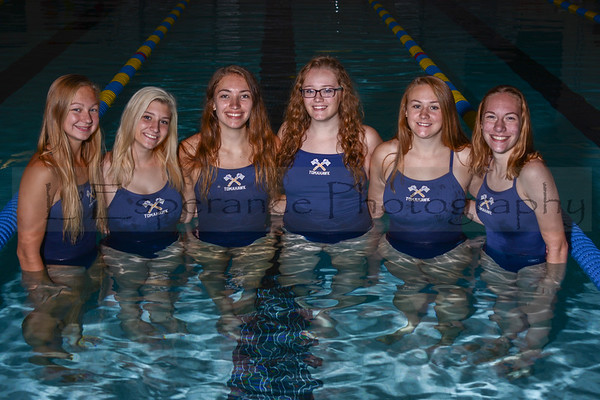 2019 Lady Hatchet Swim Team