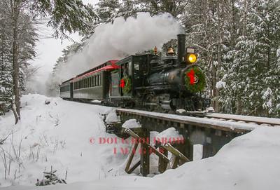 Wiscassett, Waterville & Farmington Railway Victorian Christmas, 12-23-17