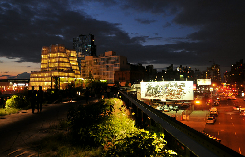 Nightfall On the High Line