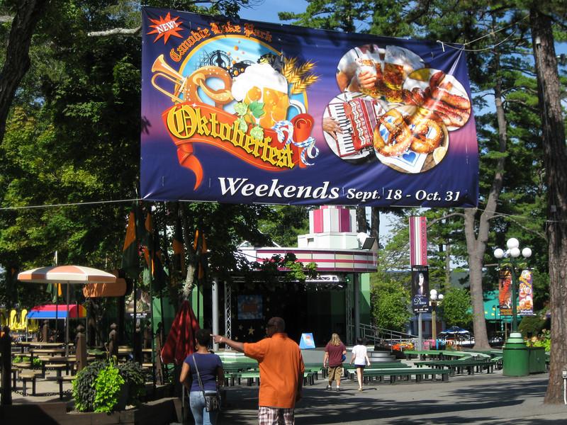Another Oktoberfest banner.