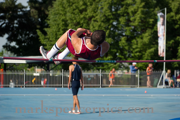Track State Boys High Jump 2012