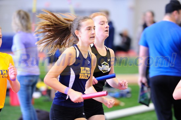Girls' DMR Gallery 2 - 2018 MITS State Meet