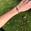 .86ctw Art Deco Ruby and Diamond Link Bracelet 2
