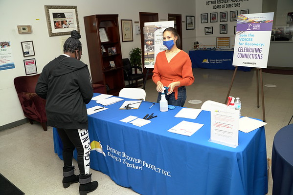 2020 Detroit Recovery Project's Health Fair and Open House