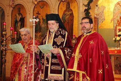 Christmas Vesperal Liturgy 2013 - Toledo