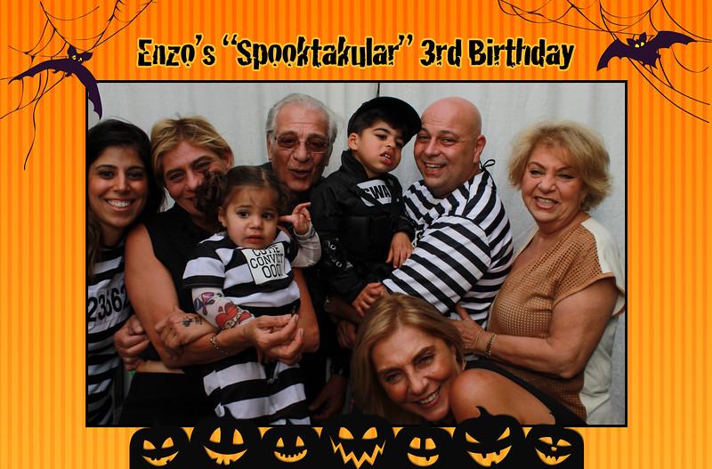 10/31/20 - Enzo's 3rd Birthday
